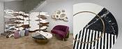 Designers : Isabelle Stanislas - François Mascarello - Charles Kalpakian - Pia Maria Raeder - Djim Berger - courtesy BSL galerie, Paris